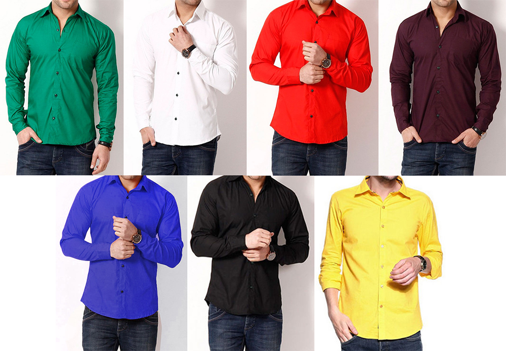 shirt colours for summer
