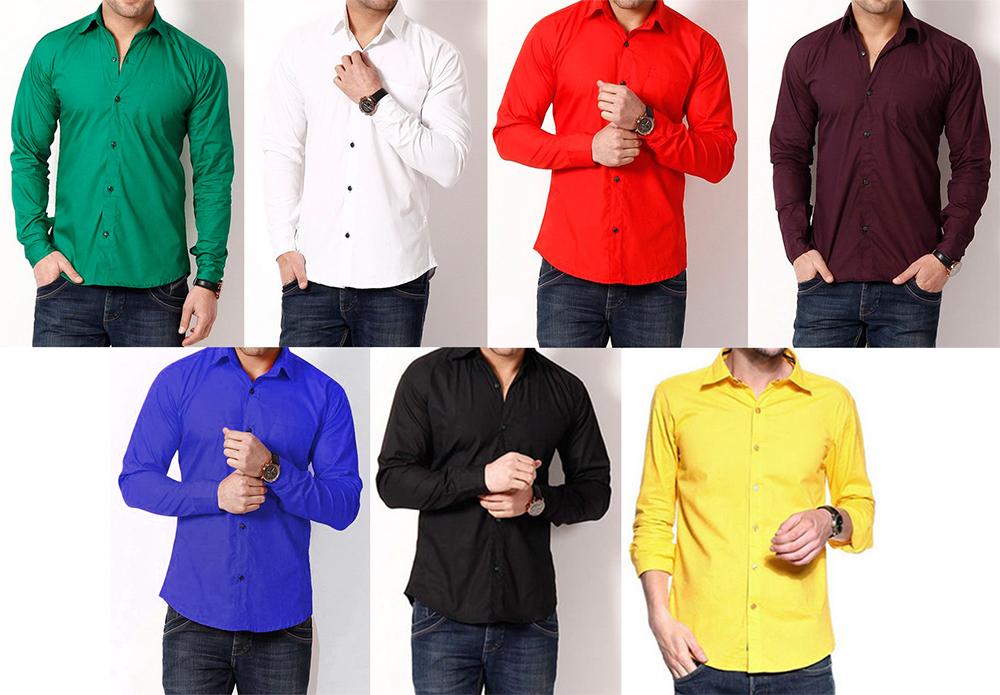 shirt colours for summer