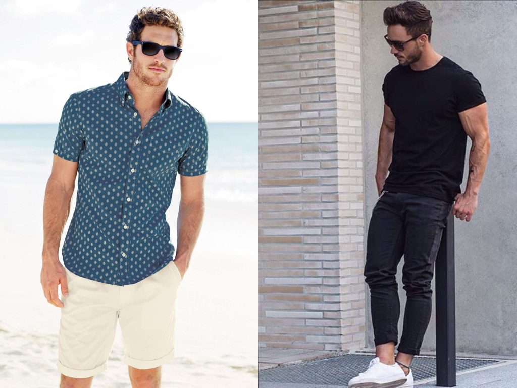 casual beach wear for men
