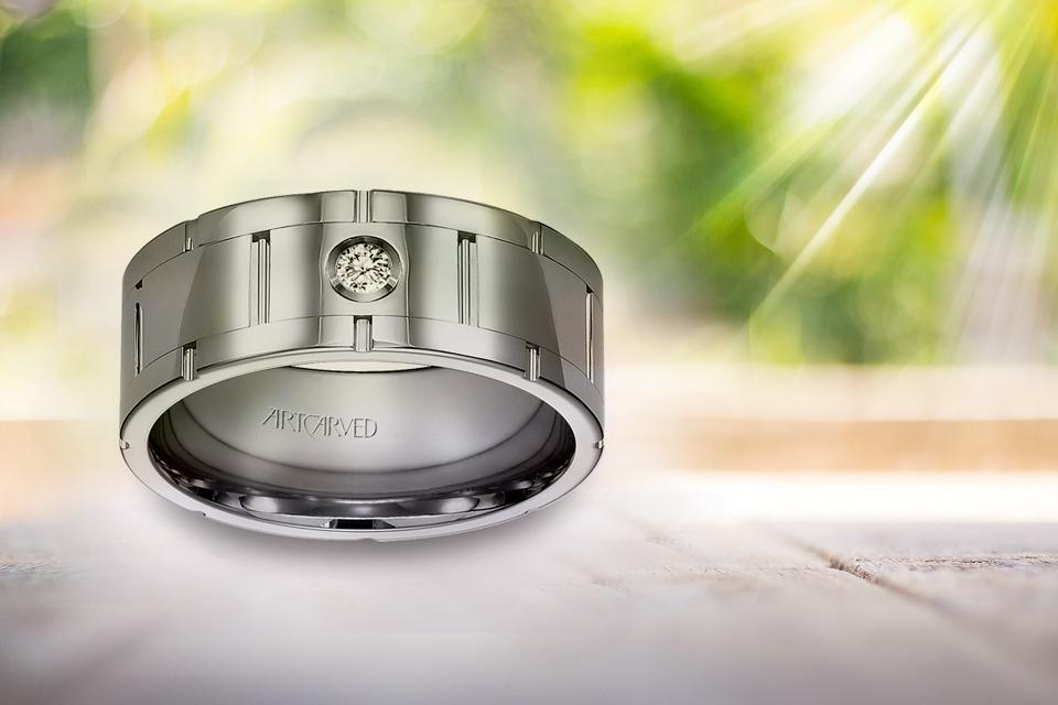 Stone for Men's Engagement Rings