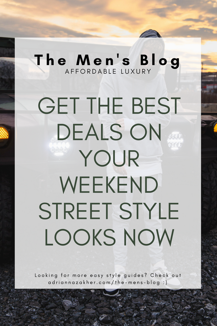 How to Find Deals On Street Style Clothing - LLEGANCE ; Reading time: 3 minutes It's finally the weekend and you can't wait to take off that suit and put on something that's more your style! Am I right? I mean, wearing your office wardrobe all week can be fun, but there's nothing better than feeling Keep Reading. Get the Best Deals on Your Weekend Street Style Looks Now outfit ideas for the weekend | street style for men | deals on street style clothes | affordable street style clothing | the men's blog | the best street style | street style looks | street style outfits | street style inspo for men